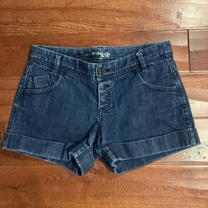 Express Cuffed Jean Shorts